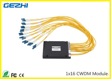 1x16CH CWDM Mux Demux Module 1260~1620nm LC connecter Multiple wavelengths to choose